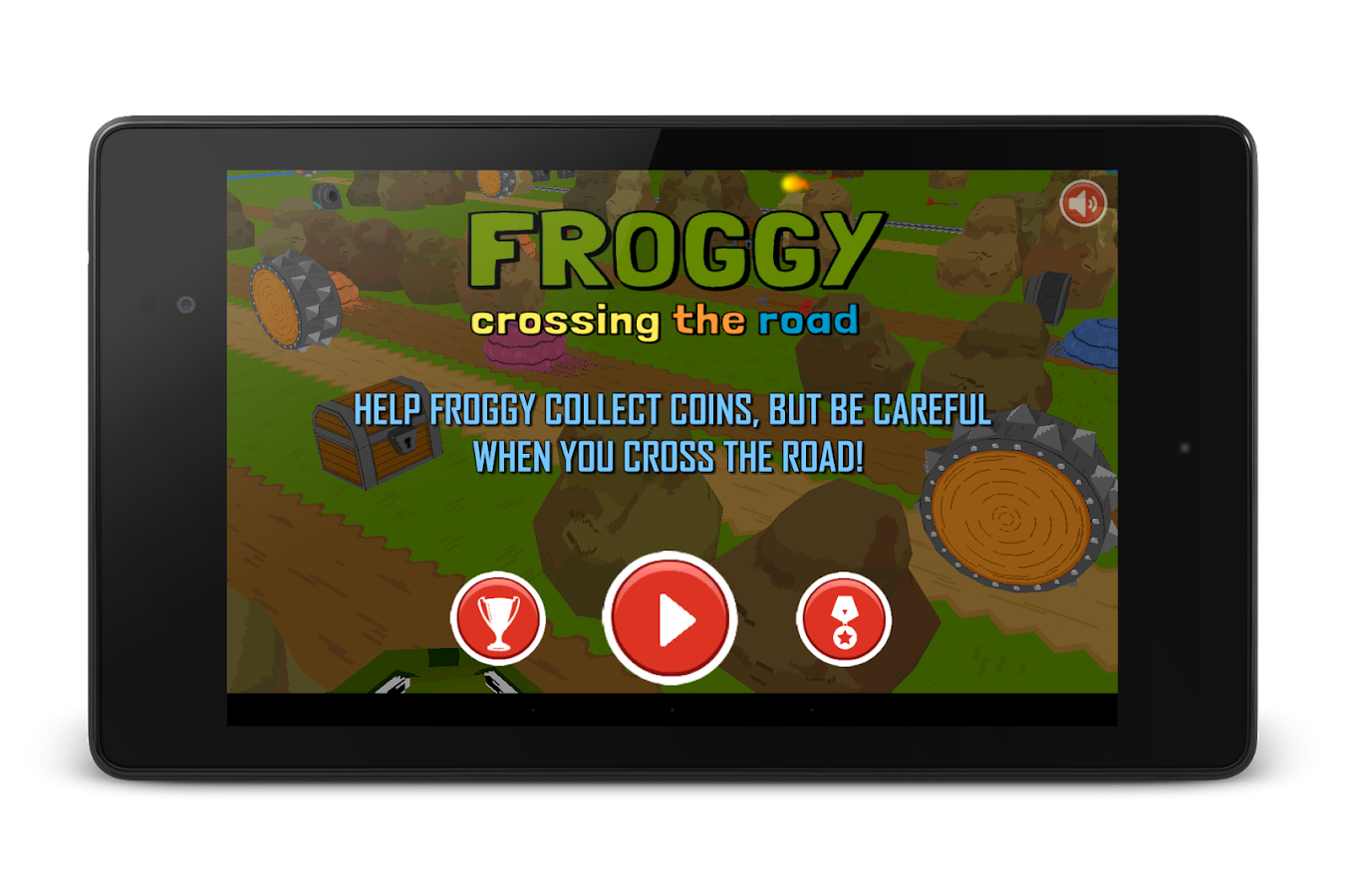 Froggy Crossing the Road- screenshot