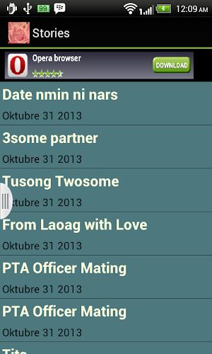 Filipino Sex Stories app screenshot