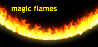 Magic Flames: Fire Simulation