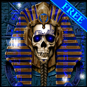 Undead Pharaoh Skull Free LWP icon