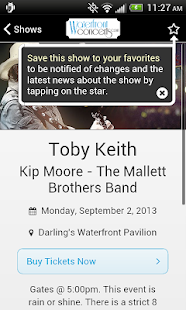 Waterfront Concerts- screenshot thumbnail