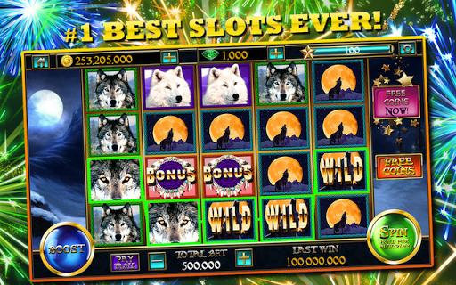 Slots™ Wolf FREE Slot Machines 7.2 screenshots 1