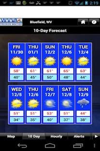 WVVA Weather - screenshot thumbnail