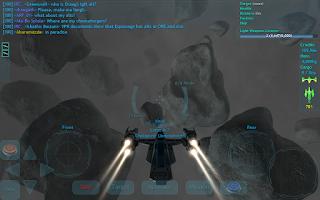 Screenshot of Vendetta Online (3D Space MMO)