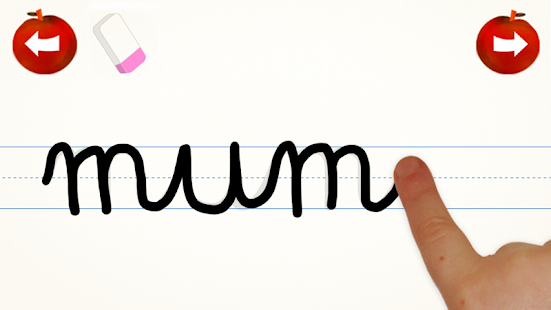 Cursive Words Writing Practice - Android Apps on Google Play