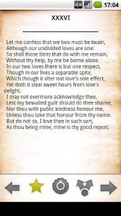 Shakespeare Sonnets free - screenshot thumbnail