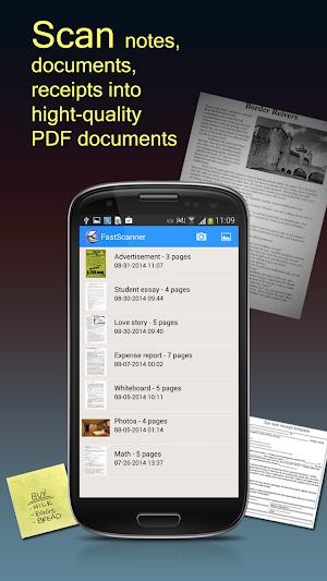 10 Fast Scanner : Free PDF Scan App screenshot