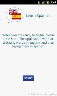 Learn Spanish - Audio- screenshot thumbnail