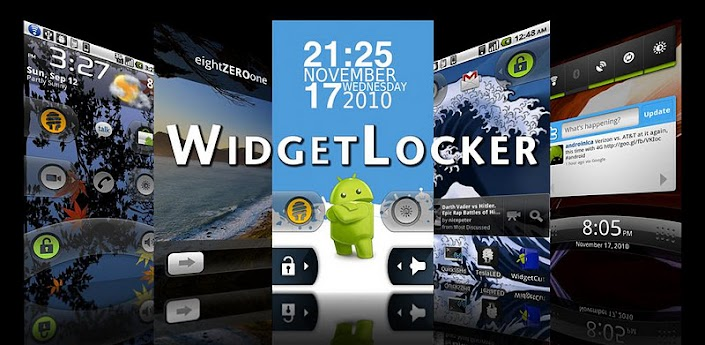 WidgetLocker Lockscreen