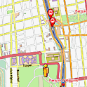 Santiago Amenities Map icon