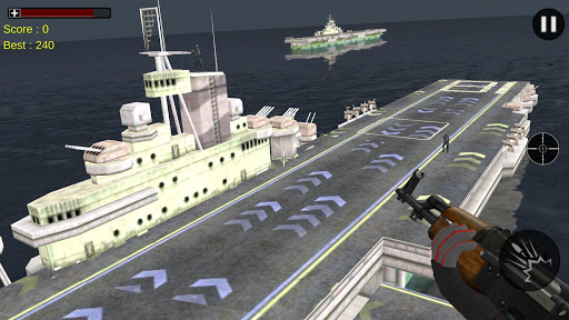 海軍砲艇反恐精英: NAVY Battle Ship 3D