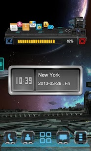 Next Clock Widget - screenshot thumbnail