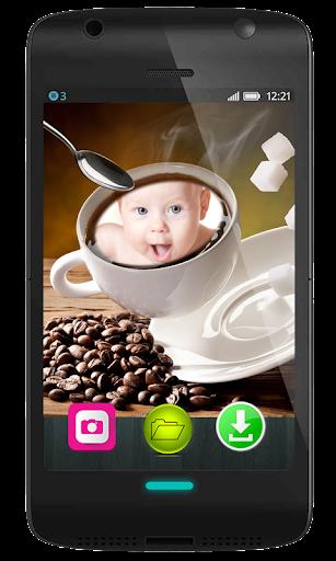 Coffee Frames on Mug Photo