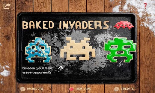 Baked Invaders- screenshot thumbnail