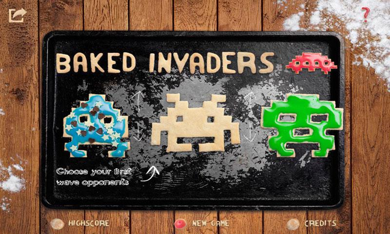 Baked Invaders- screenshot