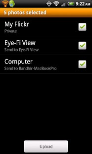 Eye-Fi - screenshot thumbnail