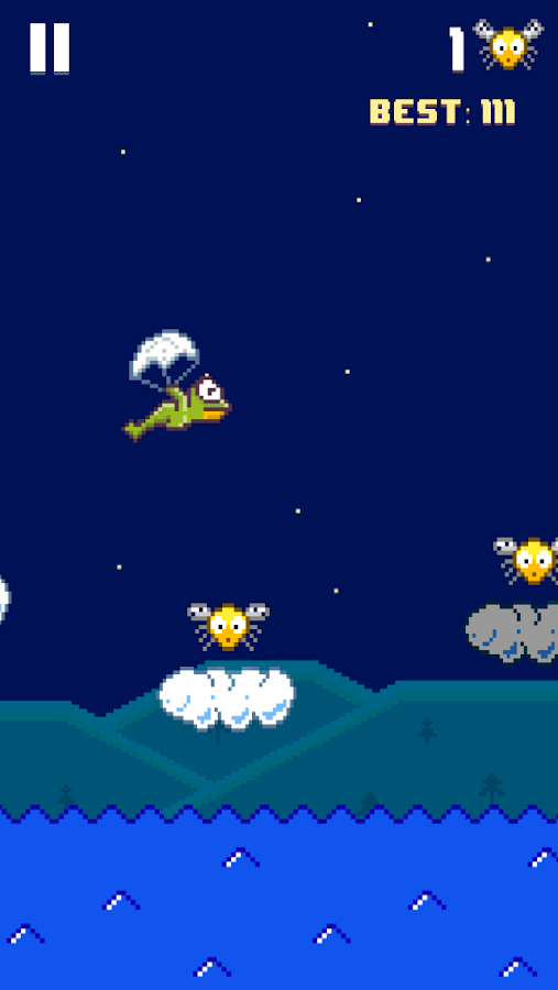 Hoppy Frog- screenshot