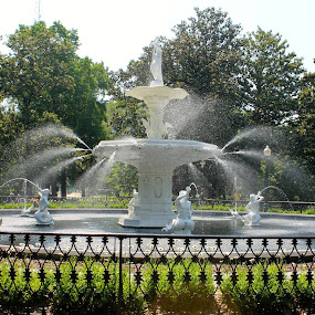 by David Montemayor - City,  Street & Park  Fountains