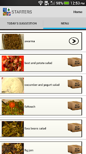 Lebanese Top Recipes- screenshot thumbnail