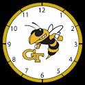 GaTech Clock -Samsung Galaxy S logo