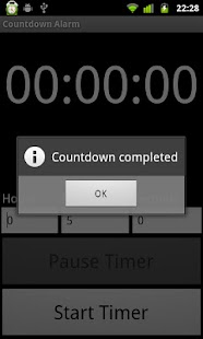 Countdown Alarm - screenshot thumbnail