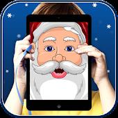 Santa Funny Face