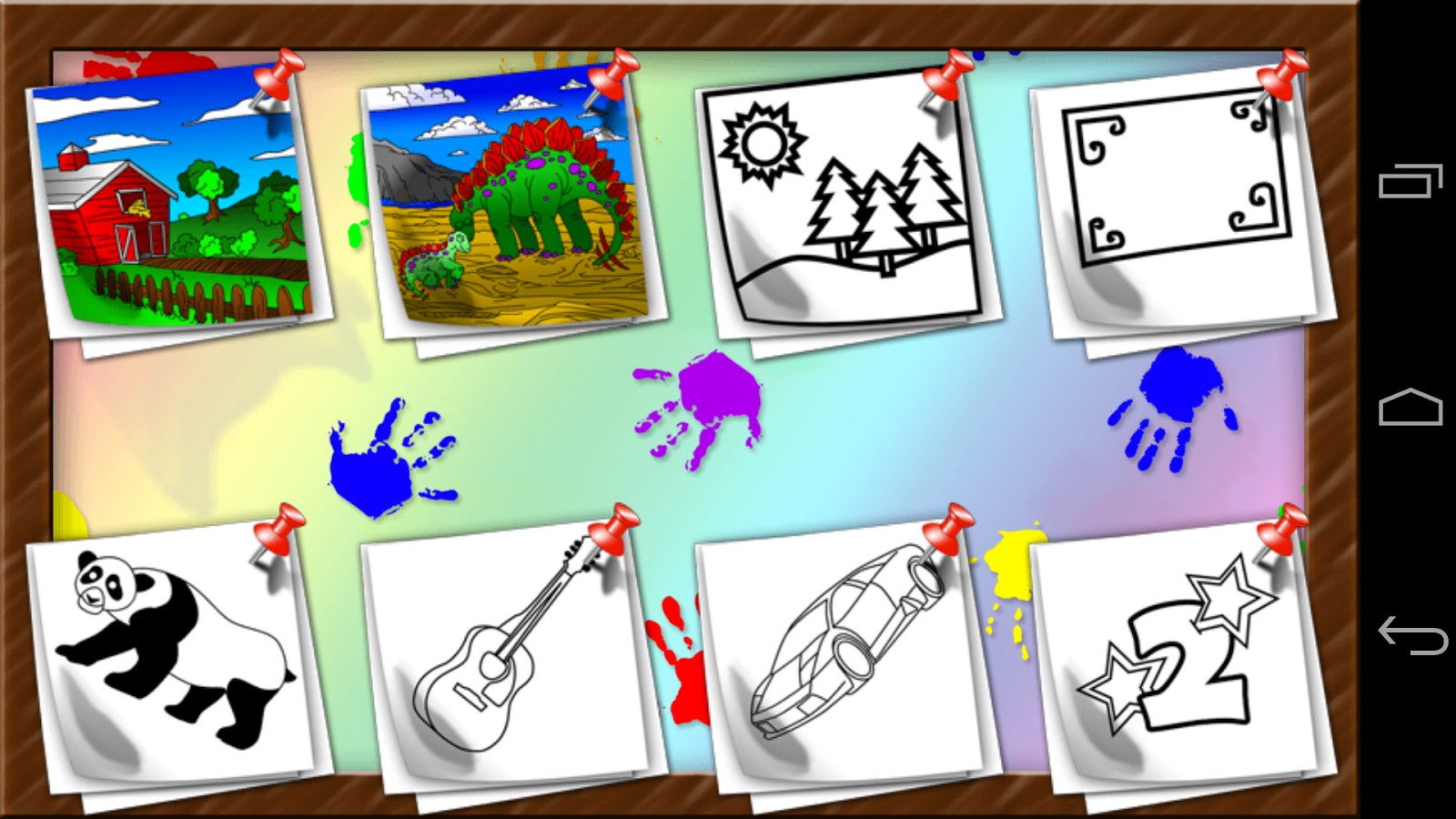 Kids Draw, Coloring and Stamps - screenshot