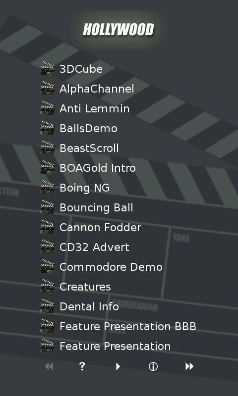Hollywood Player- screenshot