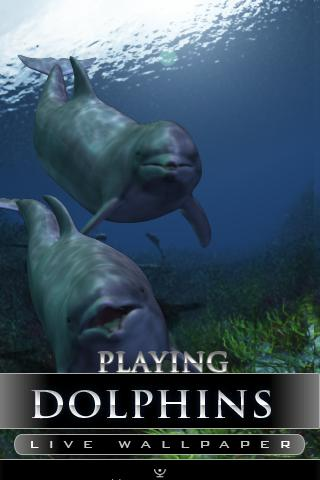 dolphin live wallpaper - screenshot