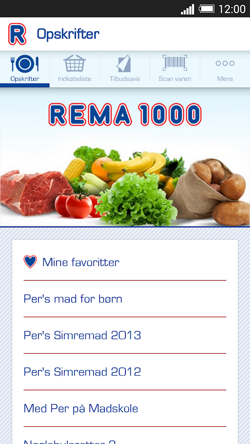 REMA 1000- screenshot