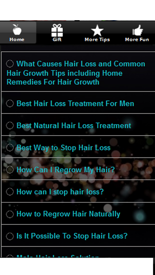 Hair Loss Treatment & Remedies - screenshot
