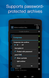 B1 Archiver zip rar unzip 1.0.0086 (Unlocked)