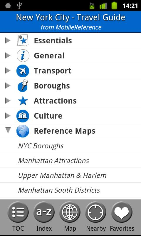 New York City - Travel Guide - screenshot