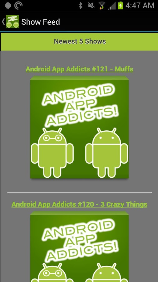 Android App Addicts Companion - screenshot