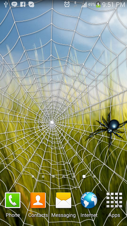 Spider Web - Live Wallpaper - screenshot