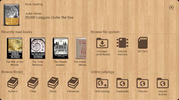 Screenshot of Cool Reader GL