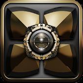 Next Launcher Theme Golden K