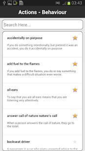 Idioms & Phrases Dictionary- screenshot thumbnail