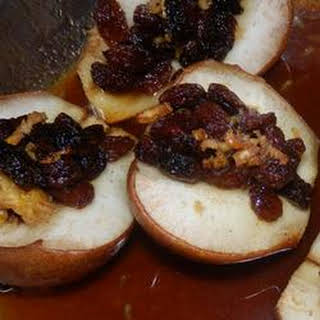 Baked Stuffed Pears.