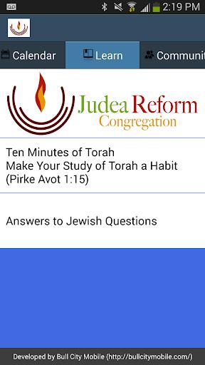玩社交App|Judea Reform Congregation免費|APP試玩