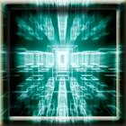 3D Illuminated Cubes LWP icon