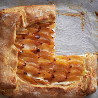 Quince and Goat Cheese Galette From 'Huckleberry'