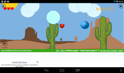 Bubble Popper  screenshots 2