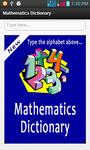 Mathematics Dictionary
