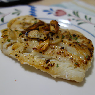 GARLIC BUTTER COD FILLET  Recipe