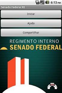 Regimento Senado Federal lite- screenshot thumbnail