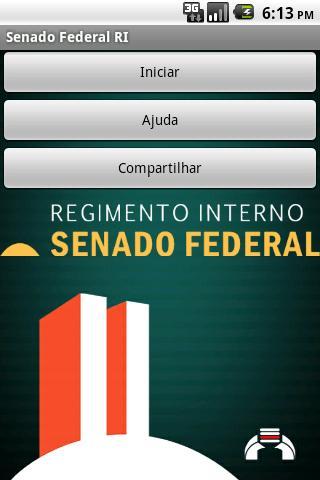 Regimento Senado Federal lite- screenshot