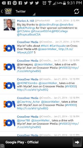Cross Over Radio  screenshots 1