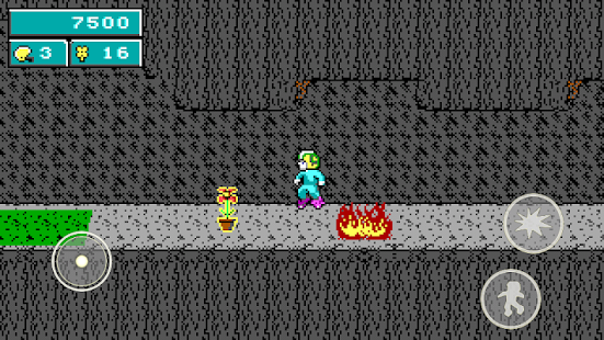 Commander Keen in Keen Dreams Screenshot