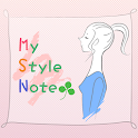 MyStyle☆Note 女性のための体型診断アプリ icon